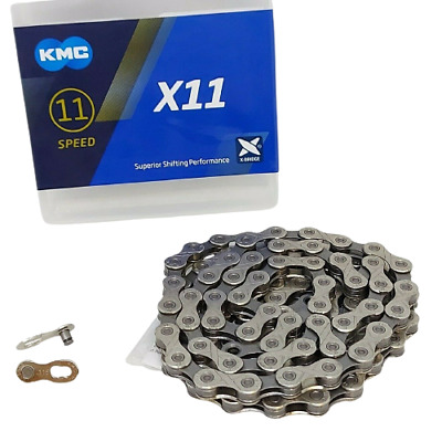 KMC X11.93 Chain Silver / Black MTB Mountain Road Bike 11 Speed Shimano SRAM X11 • 17.99£