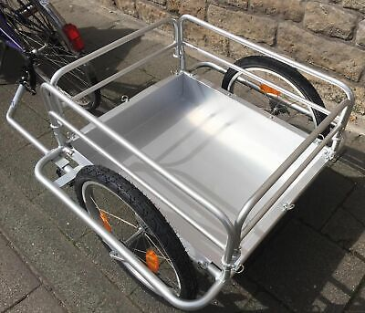Red Loon Cargo Bicycle Trailer Transport Alu Rims 144 L Extreme Lightweight • 204.56£