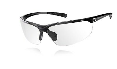 Polaris Clarity Cycling Glasses Clear Lens / Black Frame • 11.99£