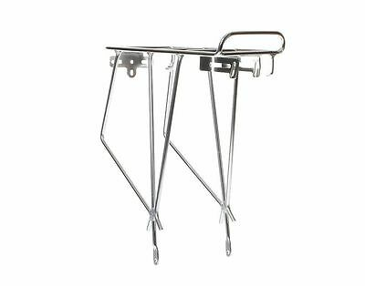 "Keirin Silver Rear Bicycle Pannier Rack Suitable For 26"" Wheels • 14.89£"