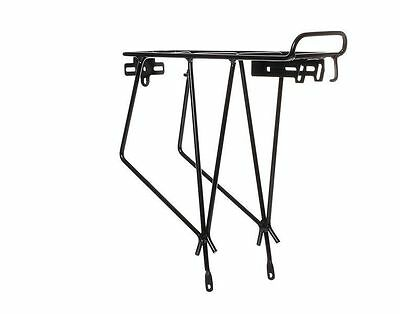 "Keirin Black Rear Bicycle Pannier Rack Suitable For 27"" And 700c Wheels • 14.89£"