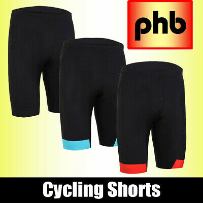 PHB Padded Auto Contour Breathable Sports Bike/ Bicycle/ Cycling Shorts/ Pants • 5.95£