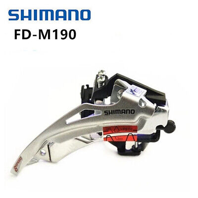 Shimano FD-M190A 7/8/21/24 Speed MTB Bicycle Front Derailleur 31.8mm 34.9mm • 9.95£