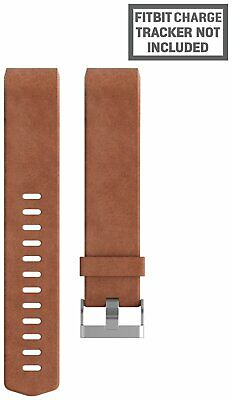 Fitbit Charge 2 Brown Leather Accessory Band - Small • 43.99£