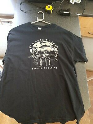 Sick Bicycle Company T Shirt Xl • 20£