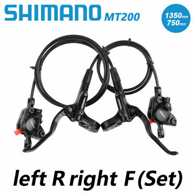 Shimano BR-BL-MT200 MTB Hydraulic Disc Brakes Set Pre-Bleed With G3 160mm Rotors • 37.55£