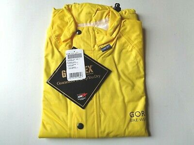 *NOS Vintage 1990s GORE-TEX Champion Lightweight Waterproof Cycle Jacket (XL)* • 65£