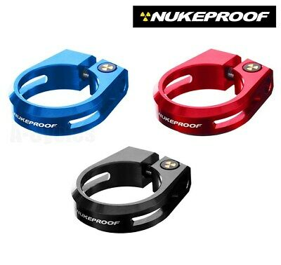 NUKEPROOF Warhead Seatpost Clamp 28.6mm, Seatclamp For MTB Or Road Bike • 11.95£