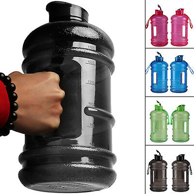 2.2L Big Large BPA Free Sport Gym Training Drink Water Bottle Kettle Camping • 7.39£