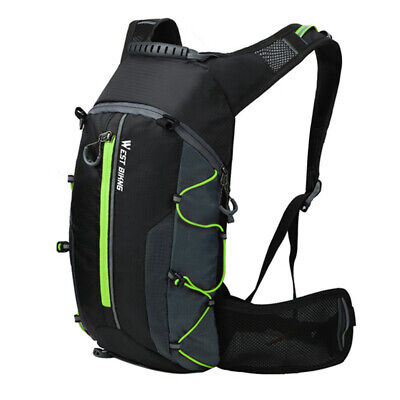 WEST BIKING Waterproof Bicycle Bag Cycling Backpack Breathable 10L X9L4 • 11.35£