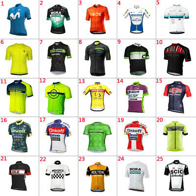 2020 Mens Team Cycling Jersey Cycling Short Sleeve Jersey Cycling Short Sleeve • 10.59£