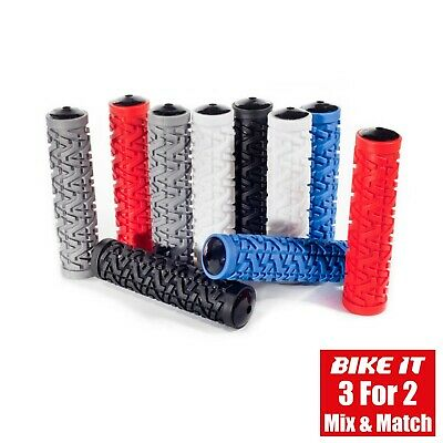 Handle Bar Grips - Mountain Bike Mtb Bmx Bicycle Cycling Cycle Scooter 1pr • 5.95£