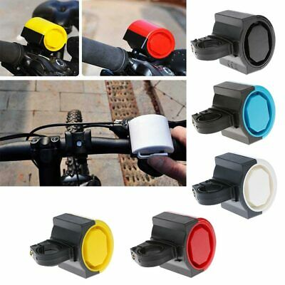 Mini Bicycle Bike Alarm Electric Warning Bell Ring Loud Horn Safety Cycling UK • 5.62£