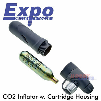 Bike CO2 INFLATOR Presta & Schrader Valve Cycle Accs Pumps Expo Tools CY311 • 5.95£