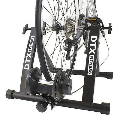 DTX Cycling Turbo Trainer Use Own Bicycle As Exercise Bike Cycle Stand Triathlon • 119.99£