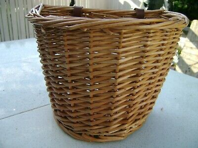 Wicker Childs Bicycle Basket • 15£