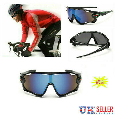 FOR Men Unbreakable Polarized Cycling Glasses Sports Glasses Sunglasses Goggles • 6.19£