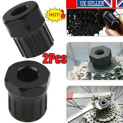 2Pcs Bicycle Remover Lockring Repair Freewheel Tool Bike Cassette Removal UK • 4.48£