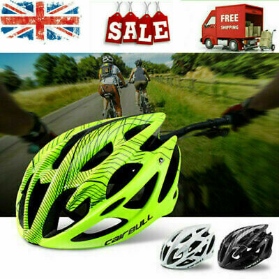 UK CAIRBULL Cycling Bicycle Adult Mens Womens MTB Road Bike Safety Helmet • 19.98£