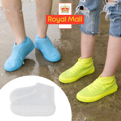 Recyclable Silicone Overshoes Rain Waterproof Shoe Covers Boot Cover Protector J • 3.59£