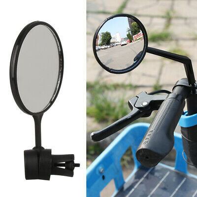 2X Wide Rear View Rearview Convex Mirror Cycling Bike Bicycle Handlebar Safe NEW • 6.13£