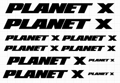 Replacement Frame Decals - Planet X • 12£
