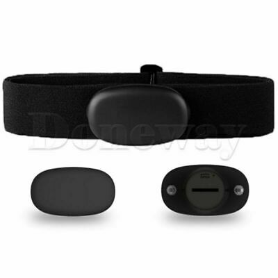 MHR10 Dual Mode ANT+ & Bluetooth 4.0 Heart Rate Sensor Chest Strap Battery Kit • 23.94£