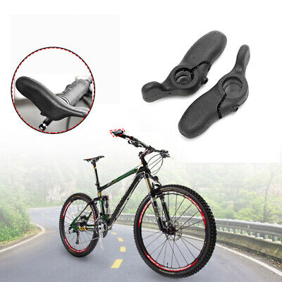 MTB Bike Bar Cycling Grip Auxiliary 22mm Handlebar Ends Rubber Road Bicycle UK • 6.99£