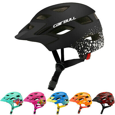 Kids Bike Helmets Boys Girls Cycling Skating Sport Helmet With Safety Light W8D3 • 15.99£