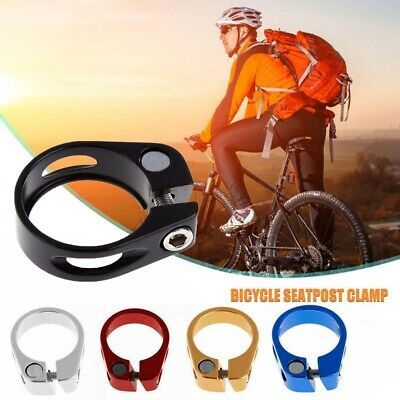 Mountain Bike Mtb Road Bicycle Lightweight Alloy Seat Post Clamp Bolt 31.8 34.9 • 3.49£