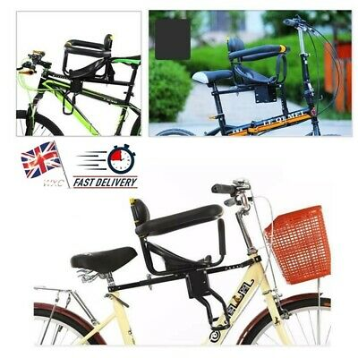 Child Bicycle Bike Front Seat Saddle Children Kid Baby Safety Carrier Chair • 33.93£