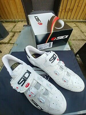 Sidi Wire Vernice Carbon Road Cycling Shoes Size 43 Wide Fit. • 83£
