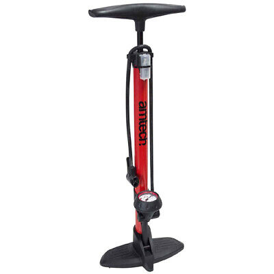 Bicycle Track Floor Tyre Pump Presta Schrader With Pressure Gauge 3 Yr Warranty • 18.95£