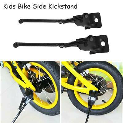 Kids Bike Side Kickstand Foot Bicycle Parking Stand Support 14-16 Inch Child CON • 5.09£
