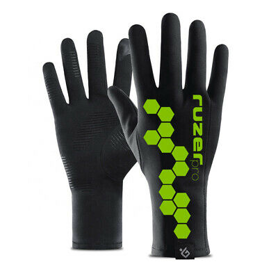 Outdoor Windproof Waterproof Cycling Sports Gloves Mens Womans Touchscreen Ok  • 9.95£