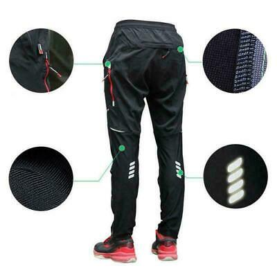 Reflective Outdoor Sports Pants Riding Mtb Bike Cycling Pants Trousers Quick Dry • 17.28£