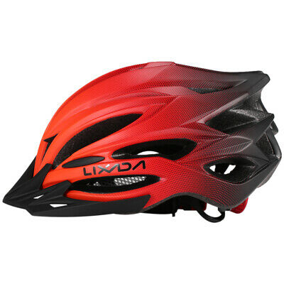 Cycling Bicycle Adult Men Women MTB Road Bike Safety Helmet With Tail Light J4N8 • 13.89£
