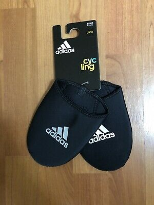 Adidas Cycling Toe Thingy Neoprene Warmer Overshoe Sky Cleat Protector Covers • 10£