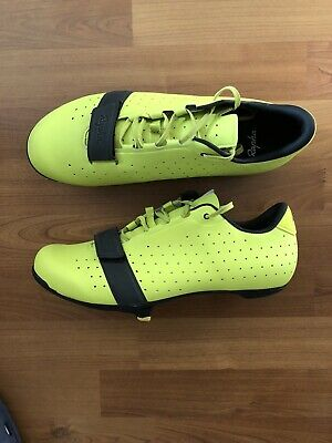 Rapha Classic Cycling Shoes Sulphur Yellow Spring Size 43 8.5 9 • 110£