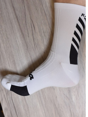 Rapha Cycling Socks Regular Medium_Large - White - Soft To The Touch • 9.99£