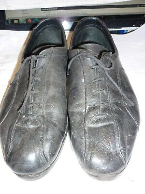 Vintage Retro Reynolds Leather Cycling Shoes Size 10 • 30£
