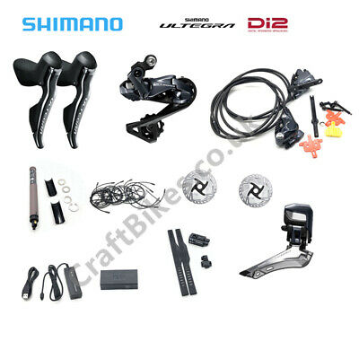 Electronic Shimano Ultegra Di2 Groupset With R8070 Hydraulic Disc Brake + Disc • 1,149.99£