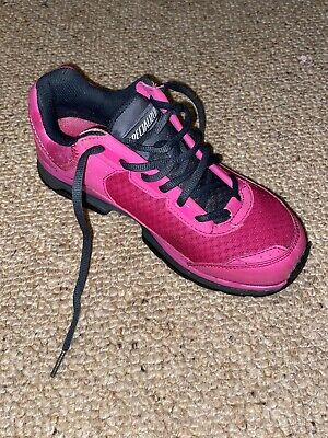 Specialized Cadette Womens Shoes - Pink / Carbon Sise 38 UK • 25£