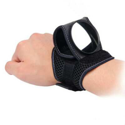Bike Wrist Rear View Mirror Cycling Bicycle Guard Wristband Back Eye Protectfilm • 6.79£