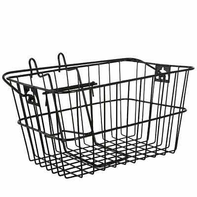 Large Wire Basket - Carry Shopping Front Mounted Cycling Bike Bicycle Shopper • 14.99£