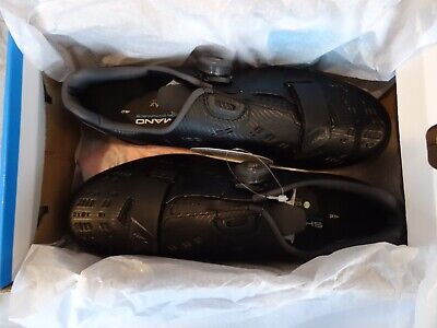 Shimano RP9 Carbon Sole Road Bike Shoes Size 42 BRAND NEW • 1.20£