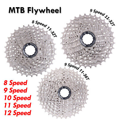 MTB Cassette Flywheel Freewheel 8/9/10/11/12 Speed Mountain Road Bike Cassette • 13.29£