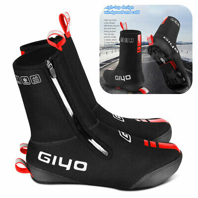 Waterproof Cycling Shoe Covers Warm Thermal MTB Road Bike Overshoes Shoes Cover • 17.90£