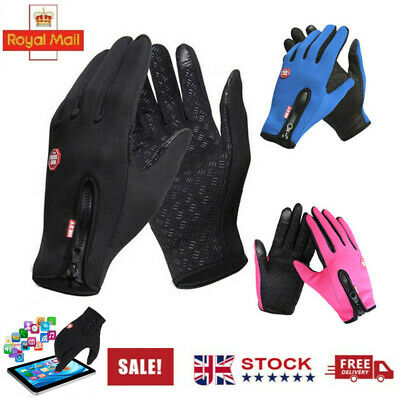 Touch Screen Gloves Waterproof Anti-slip For Driving Sports Cycling Winter Warm • 5.56£