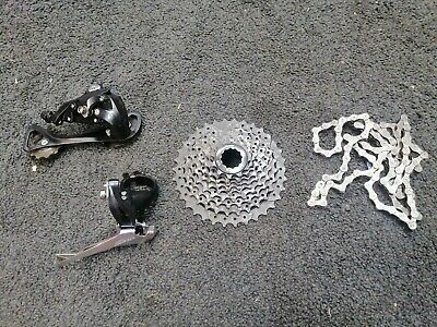 Shimano Sora R3000 Drive Train, Cassette And Chain Barely Used! Rrp £103 • 55£
